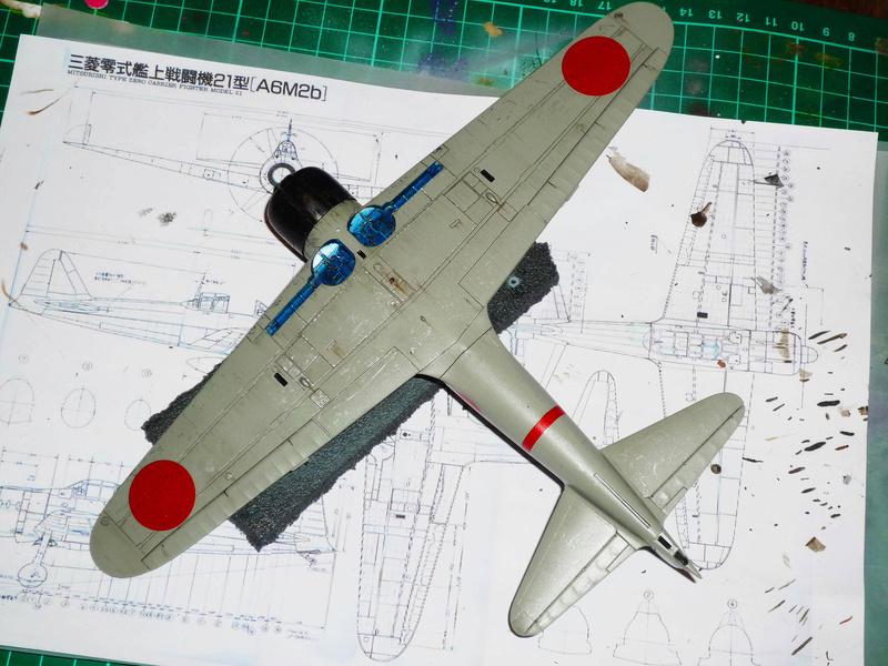 """Mitsubishi A6M Type 21 """"Zero"""" (Tamiya - 1/48) - Page 3 P1100631"""