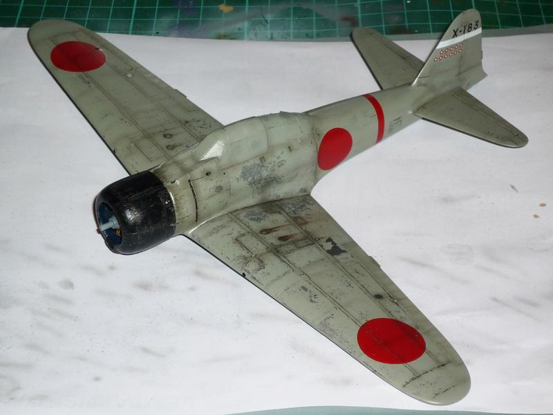 """Mitsubishi A6M Type 21 """"Zero"""" (Tamiya - 1/48) - Page 3 P1100634"""
