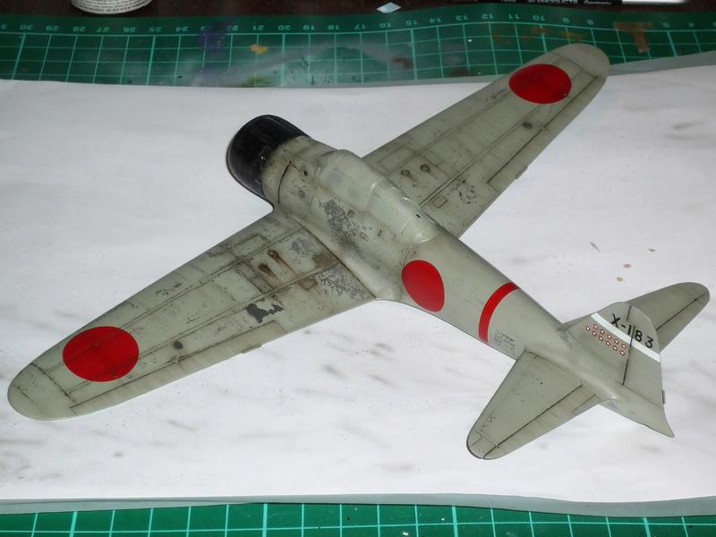 """Mitsubishi A6M Type 21 """"Zero"""" (Tamiya - 1/48) - Page 3 P1100636"""