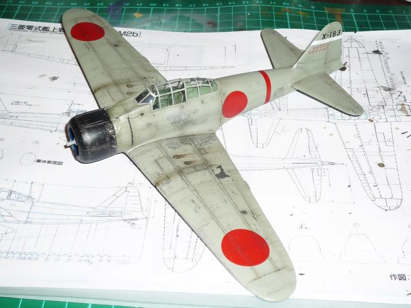 """Mitsubishi A6M Type 21 """"Zero"""" (Tamiya - 1/48) - Page 3 P1100710"""