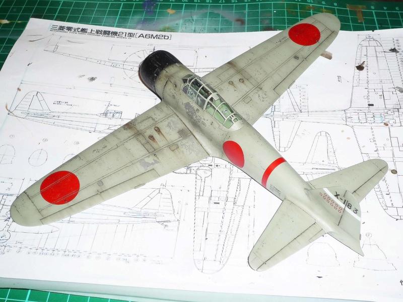"""Mitsubishi A6M Type 21 """"Zero"""" (Tamiya - 1/48) - Page 3 P1100714"""