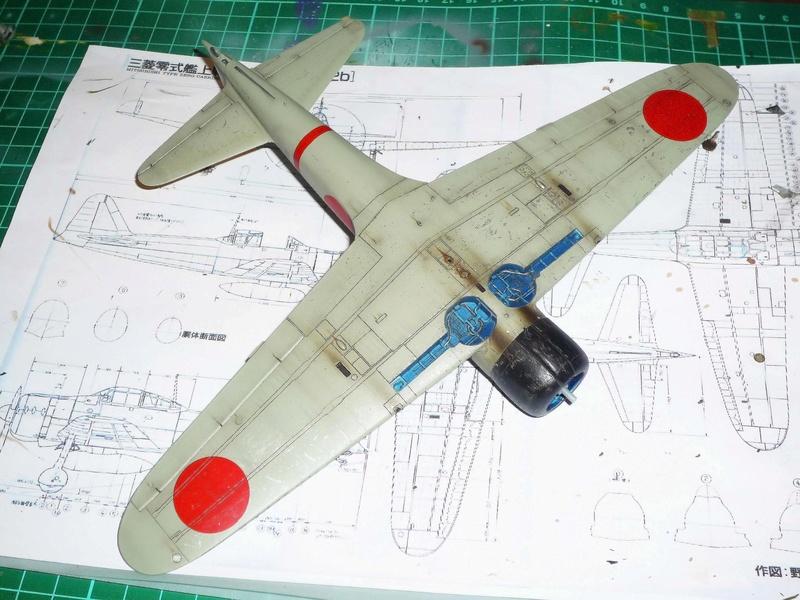 """Mitsubishi A6M Type 21 """"Zero"""" (Tamiya - 1/48) - Page 3 P1100715"""