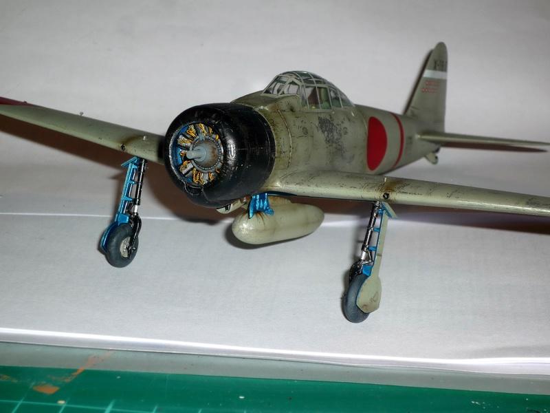 """Mitsubishi A6M Type 21 """"Zero"""" (Tamiya - 1/48) - Page 4 P1100718"""