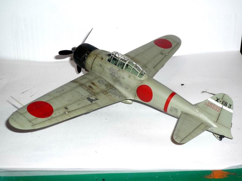 """Mitsubishi A6M Type 21 """"Zero"""" (Tamiya - 1/48) - Page 4 P1100719"""