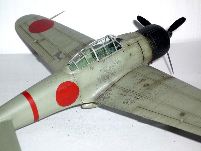 """Mitsubishi A6M Type 21 """"Zero"""" (Tamiya - 1/48) - Page 4 P1100722"""