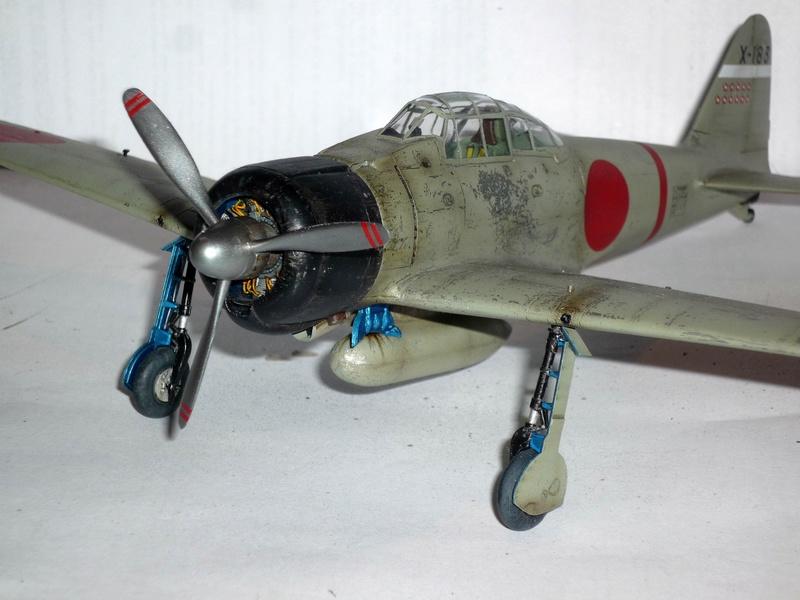 """Mitsubishi A6M Type 21 """"Zero"""" (Tamiya - 1/48) - Page 4 P1100723"""