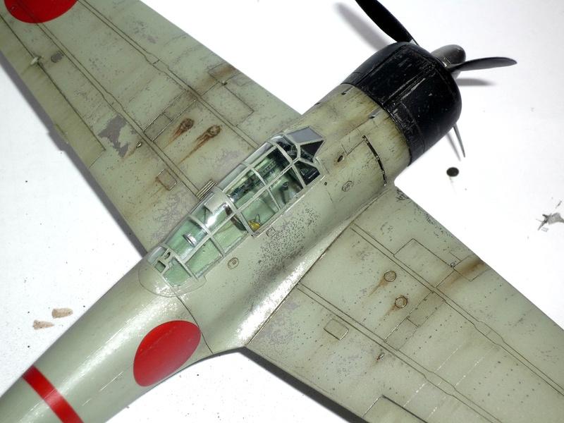 """Mitsubishi A6M Type 21 """"Zero"""" (Tamiya - 1/48) - Page 4 P1100724"""