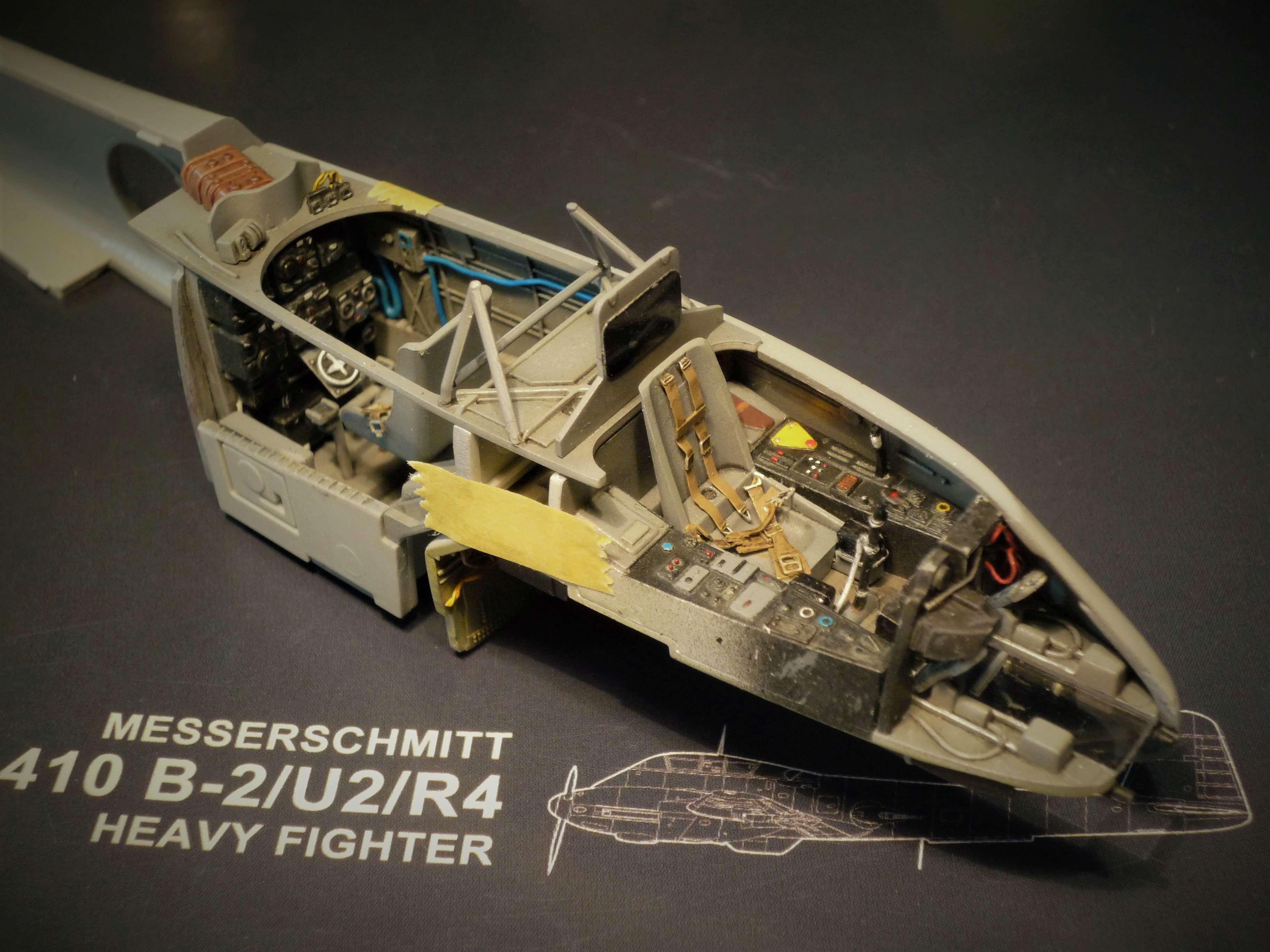 """Messerschmitt Me410B-2/U2/R4 """"Hornisse"""" (MENG 1/48) - Page 7 P1100929"""