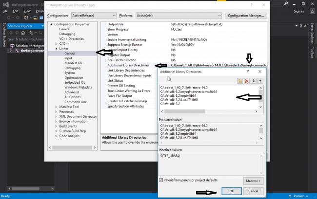 [Tutorial] Compilar tfs 1.2 y 1.3 (Visual Studio 2015) 710