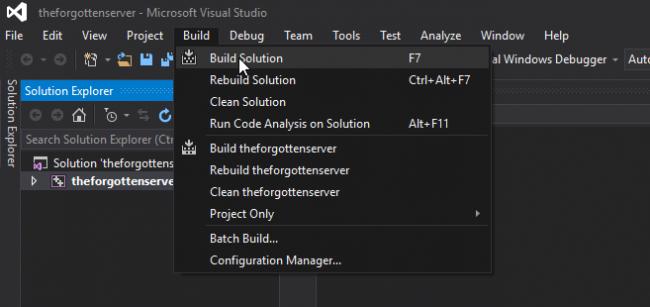 [Tutorial] Compilar tfs 1.2 y 1.3 (Visual Studio 2015) 810