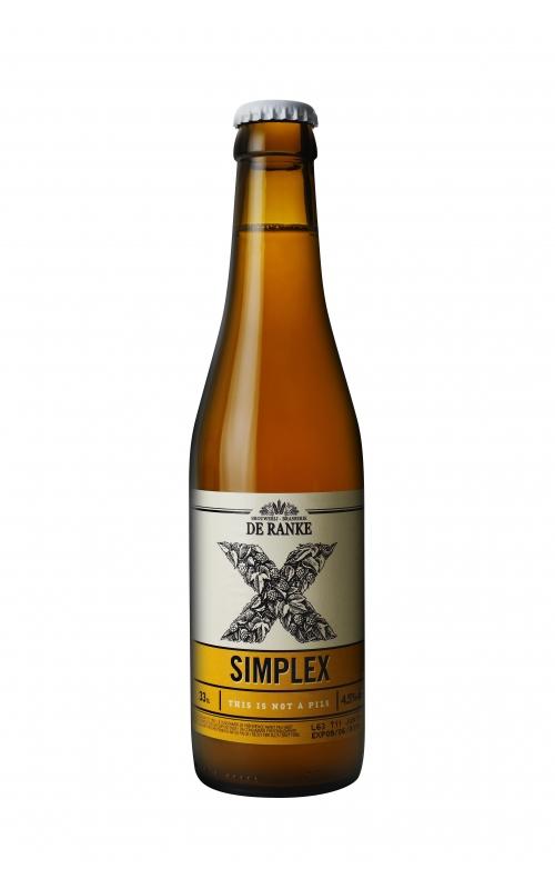 Bière SIMPLEX brasserie De Ranke Belgique De_ran10
