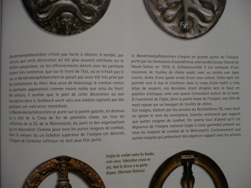 BANDENKAMPFABZEICHEN Juncker bronze type 2 1210