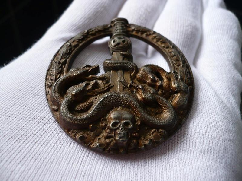 BANDENKAMPFABZEICHEN Juncker bronze type 2 28825911
