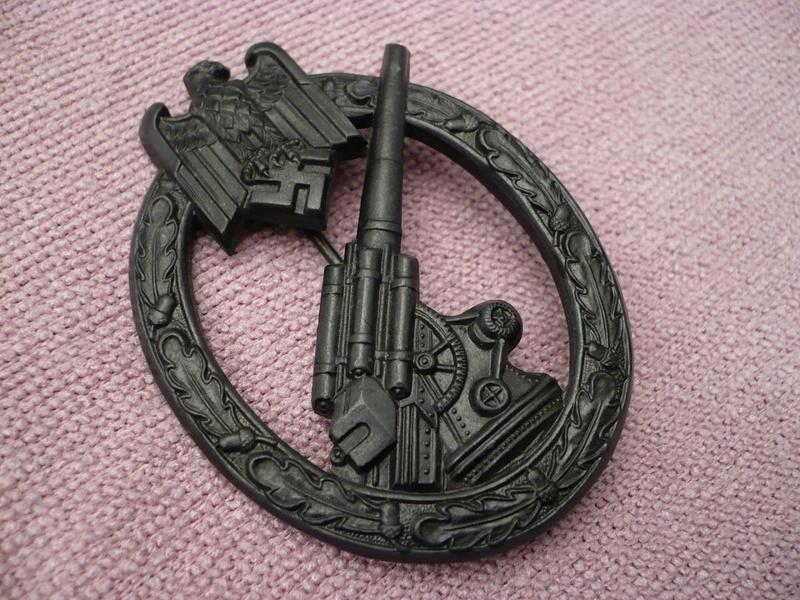 Heeres Flakabzeichen Hermann Aurich (insigne de la défense antiaérienne armée de terre) 413