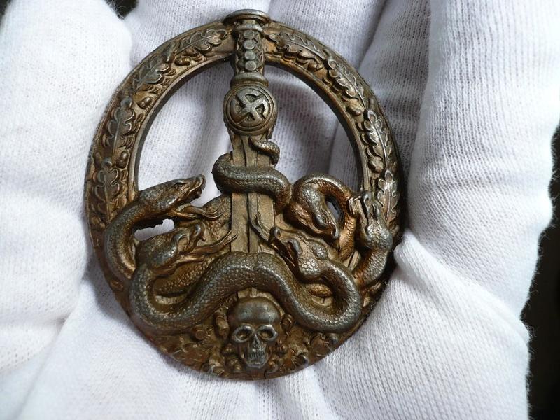 BANDENKAMPFABZEICHEN Juncker bronze type 2 61886711
