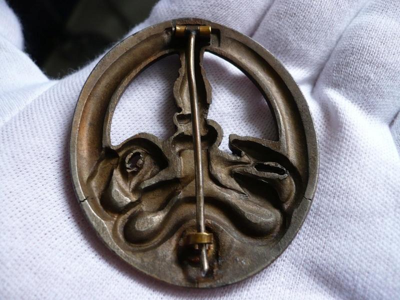 BANDENKAMPFABZEICHEN Juncker bronze type 2 83050511
