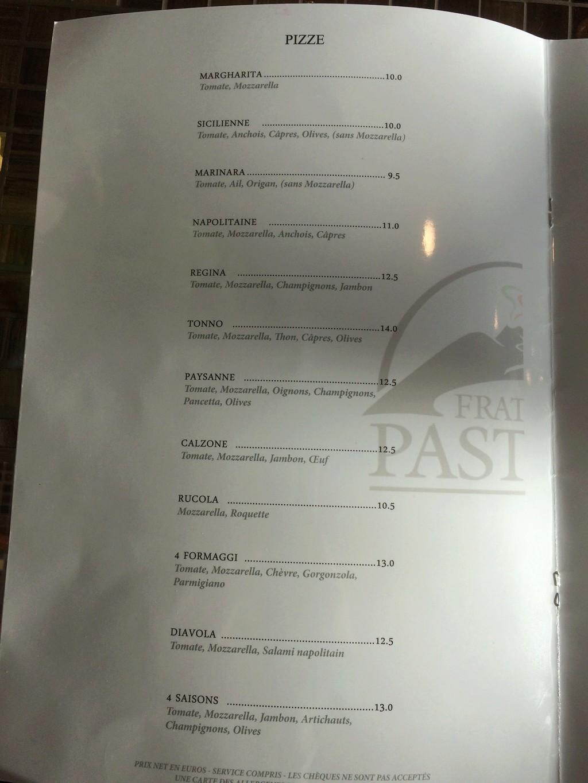 Restaurant napolitain Fratelli Pastore Img_3816