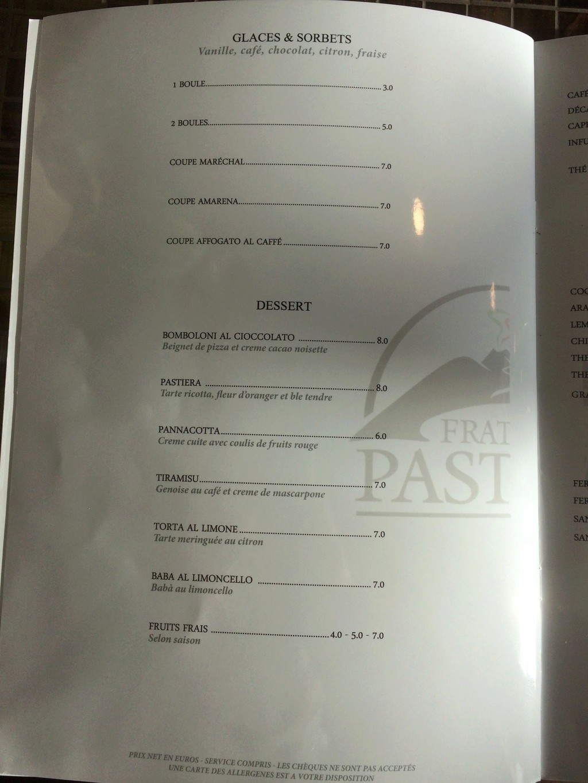 Restaurant napolitain Fratelli Pastore Img_3818