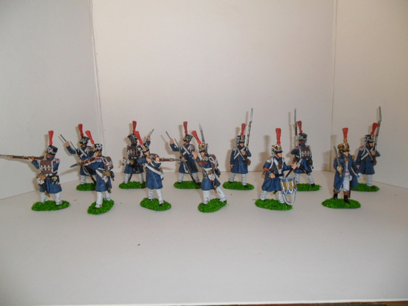 Les régiments de la jeune garde en tenue de route  Sam_1411