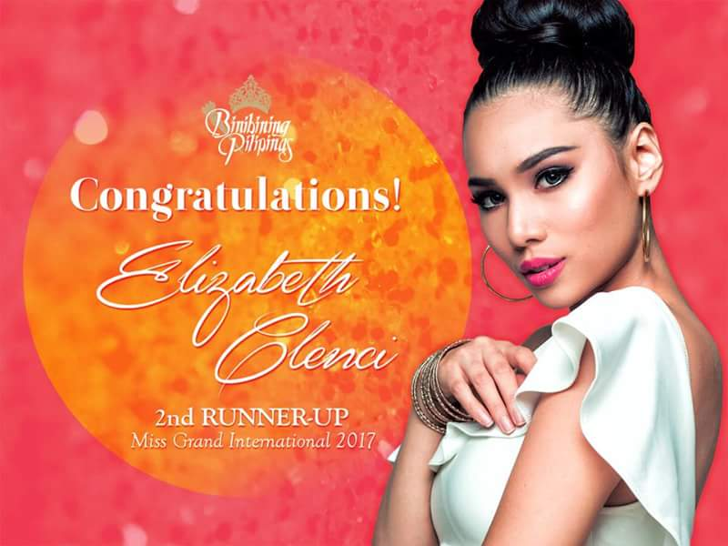 Elizabeth Clenci (MISS GRAND PHILIPPINES 2017)  - Page 2 Fb_img12