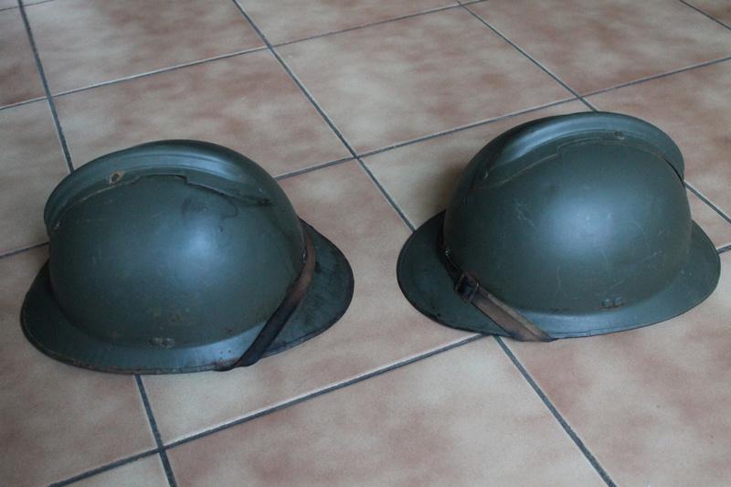 Lot de deux casques mle 1926 FEV5 - ESC [VENDU] Img_7327