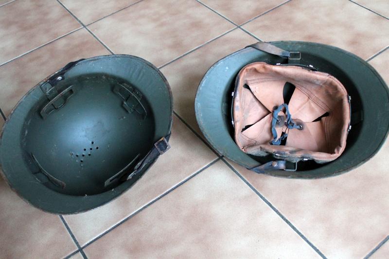 Lot de deux casques mle 1926 FEV5 - ESC [VENDU] Img_7328
