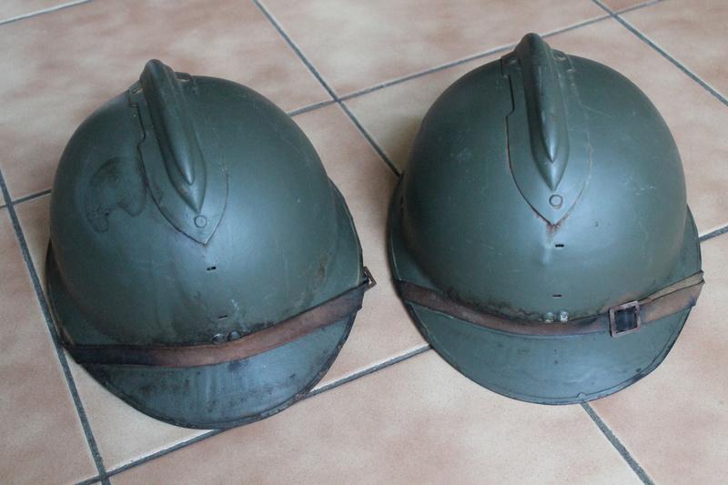 Lot de deux casques mle 1926 FEV5 - ESC [VENDU] Img_7329