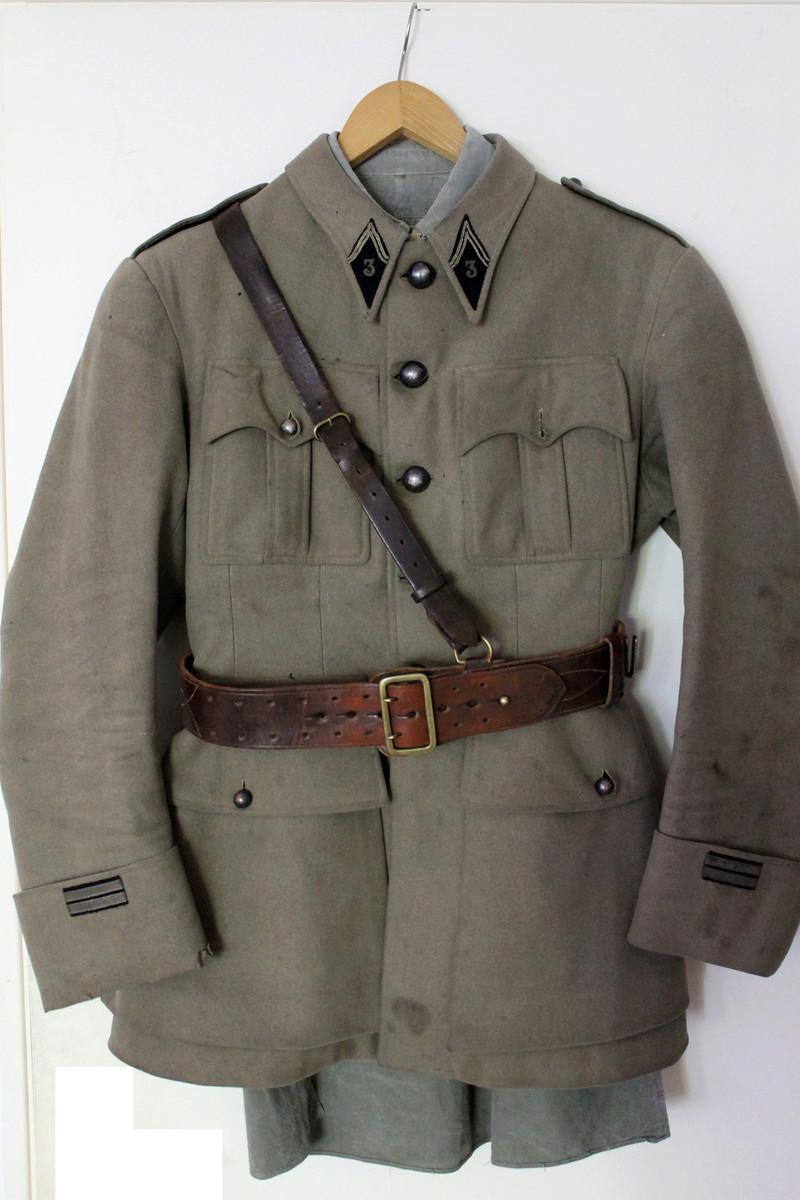 Buste Lieutenant 3ème Chasseurs d'Afrique (?) 1936-1940 nominatif ESC - MAI 1 Vendu Img_7562