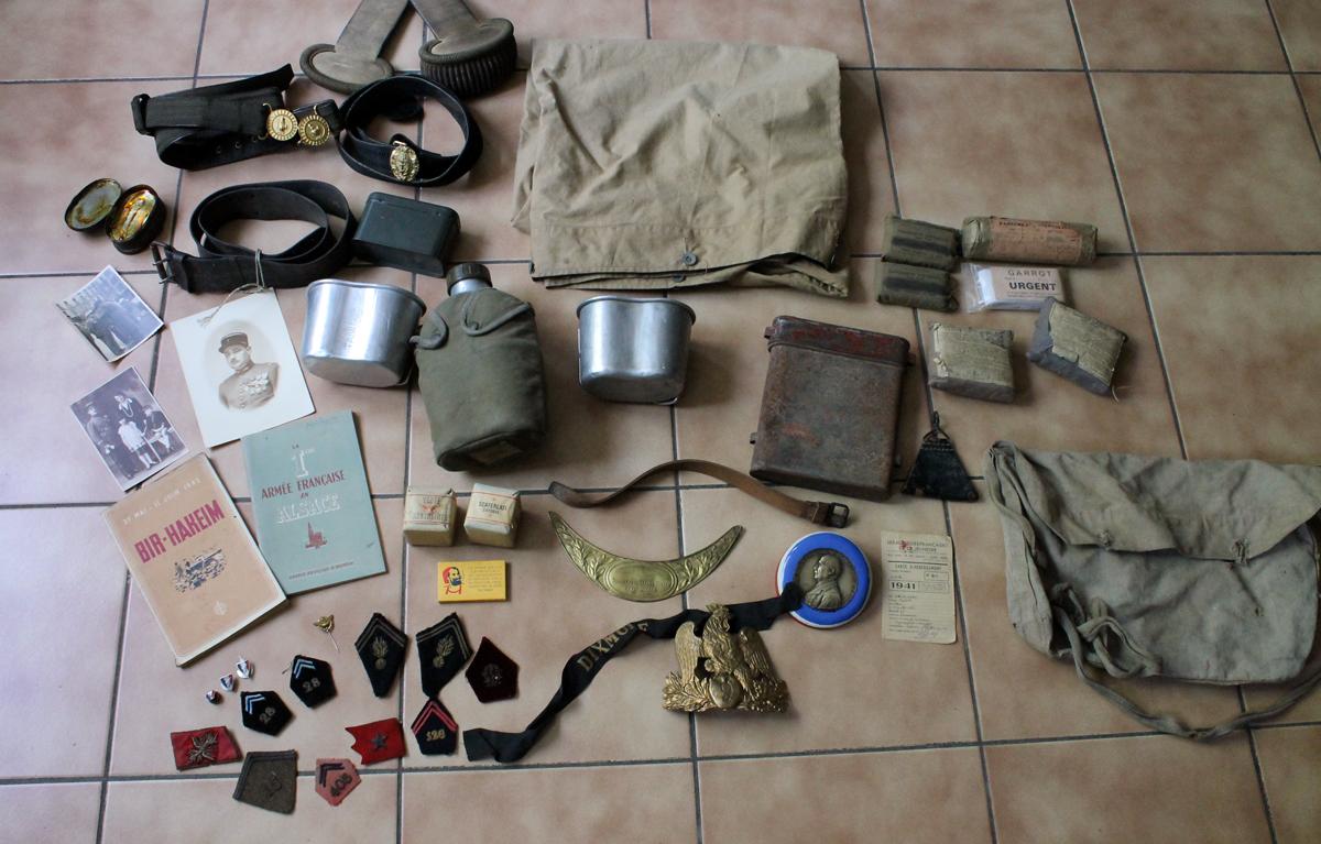 Lot divers militaria -ALPINS-MAI4 [VENDU] Img_7626