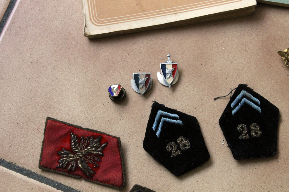 Lot divers militaria -ALPINS-MAI4 [VENDU] Img_7630
