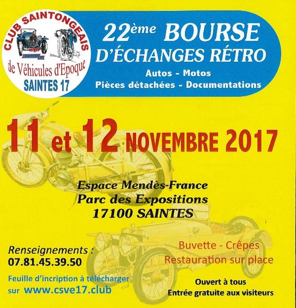Bourse echange  auto moto à Saintes 17 Bourse10