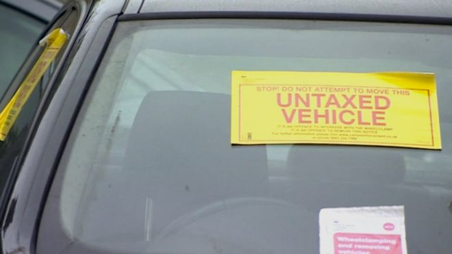 Car tax evasion triples. _8624210