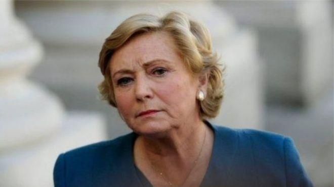 Ireland deputy MP Frances Fitzgerald resigns. _9896410