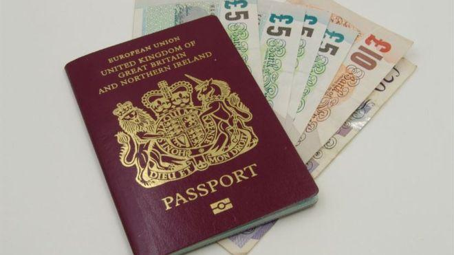 Huge rise in Passport costs. _9979210