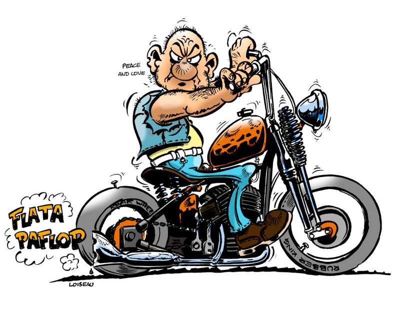 Le plaisir de courir... Harley10