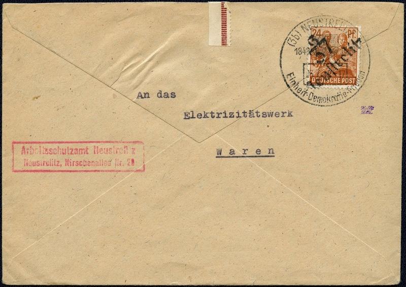 Allgemeine Ausgaben der Sowjetischen Besatzungszone - Seite 3 1948-011