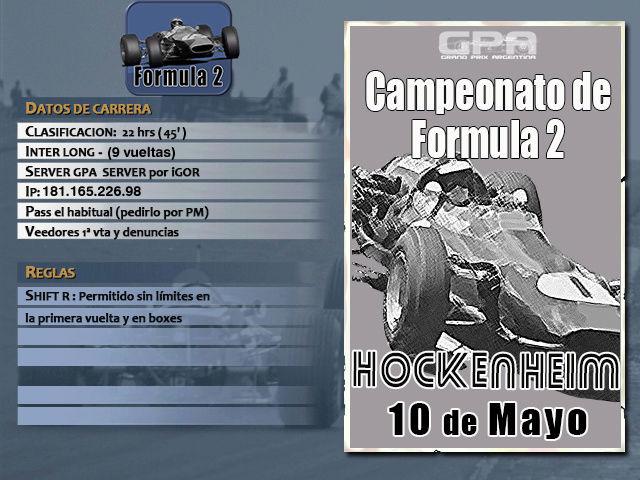 Torneo F2 1967 - 2018 - Hockenhim Hocken10