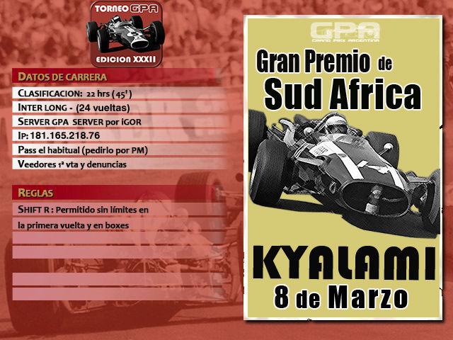 Torneo Edicion XXXII - Kyalami Kyalam10