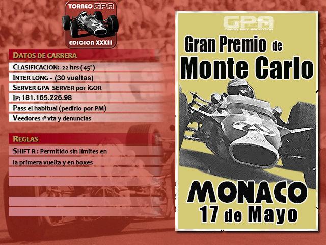 Torneo Edicion XXXII - Monaco Monaco10