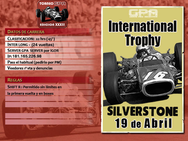 Torneo Edicion XXXII - Siverstone Silver12