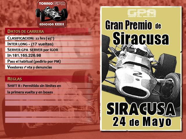 Torneo Edicion XXXII - Siracusa Siracu10