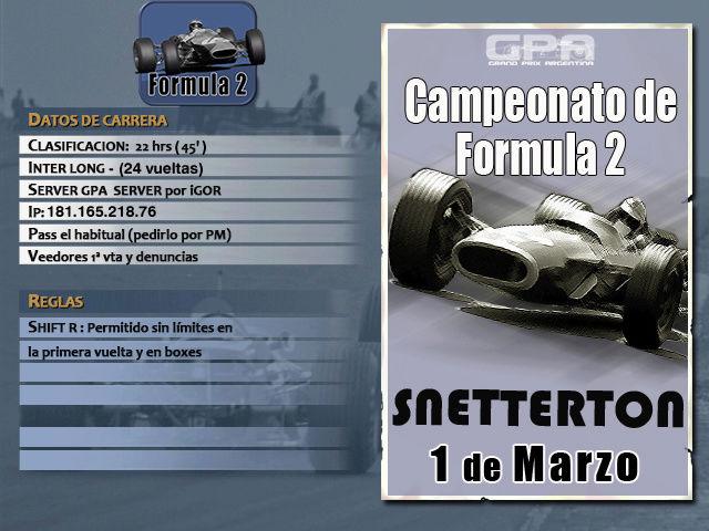 Torneo F2 1967 - 2018 - Snetterton Snette11