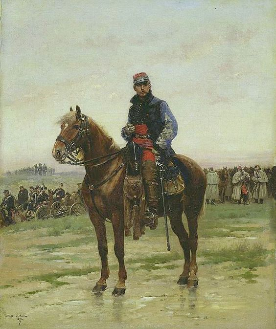 officier français second empire 84a73810