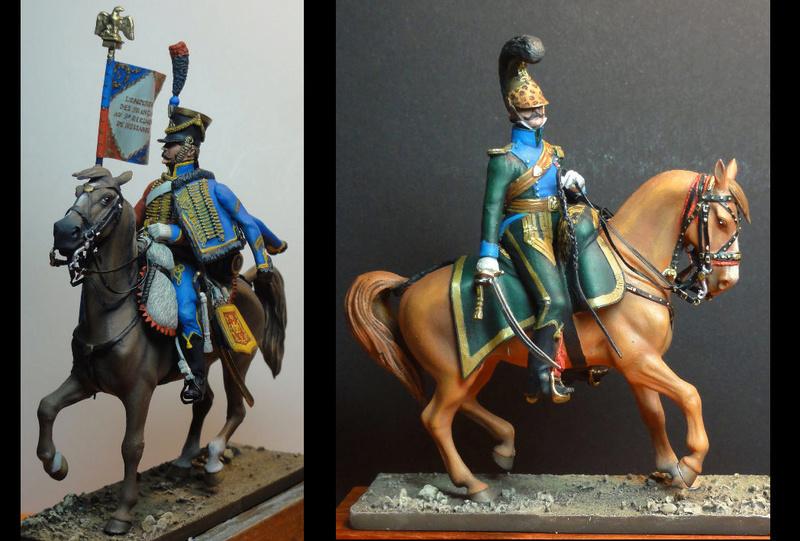 Vitrine de MarcM, trompette de chasseurs à cheval italiens - Page 11 Cavali10