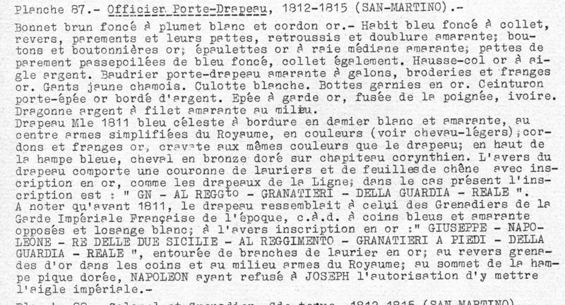 Grenadier of the Royal Guard Standard Bearer Officer, Kingdom of Naples F2b_5310