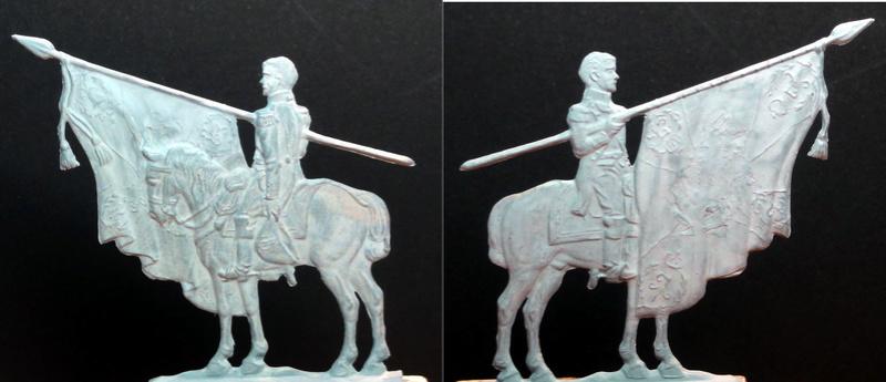 Les trophées d'Austerlitz, plats d'étain, 15e sujet, mameluck Major_10