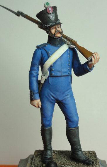 Drapeau du 1er régiment d'infanterie légère napolitaine - Page 2 Real_c10