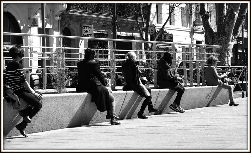 A Marseille, la pause .... P3145610