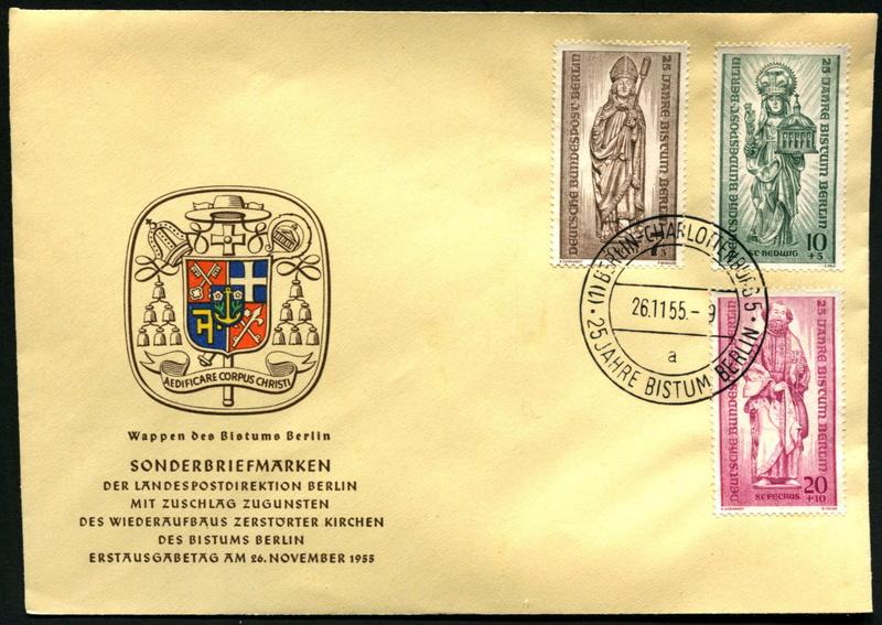 Amtliche FDC der Berliner Magistratsverwaltung 132-1310