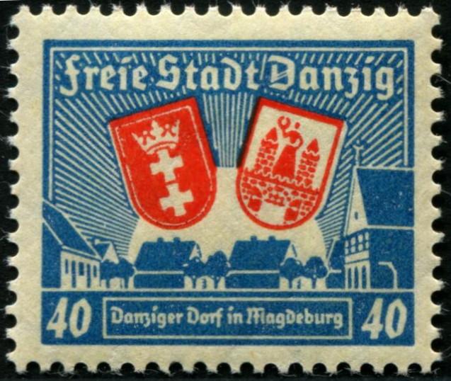 Sonderausgabe Errichtung eines Danziger Dorfes in Magdeburg 27510